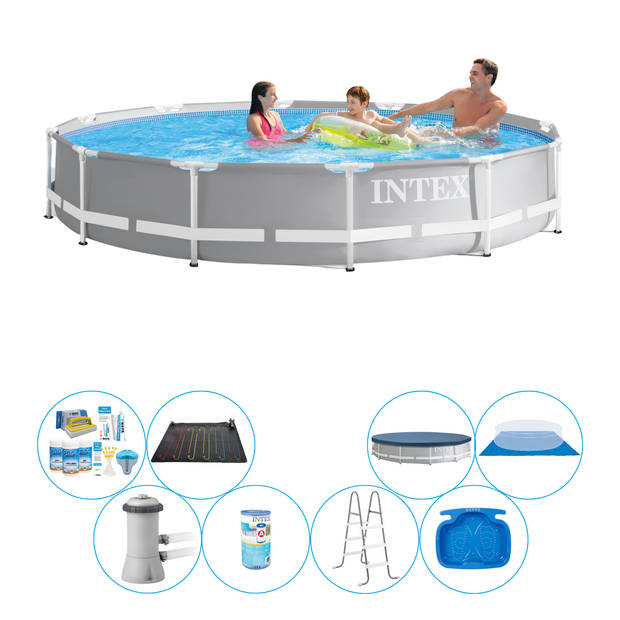Zwembad Super Deal - Intex Prism Frame Rond 366x76 cm