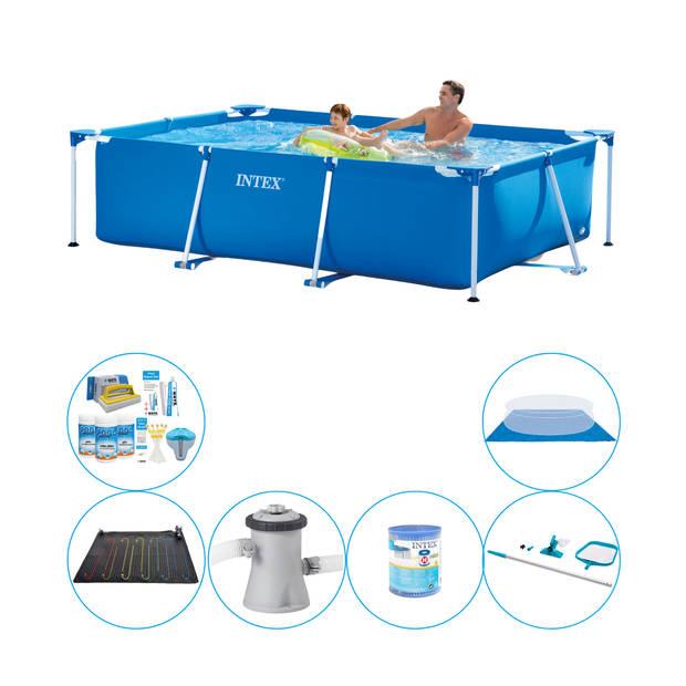 Intex Frame Pool Rechthoekig 260x160x65 cm - 7-delig - Zwembad Pakket