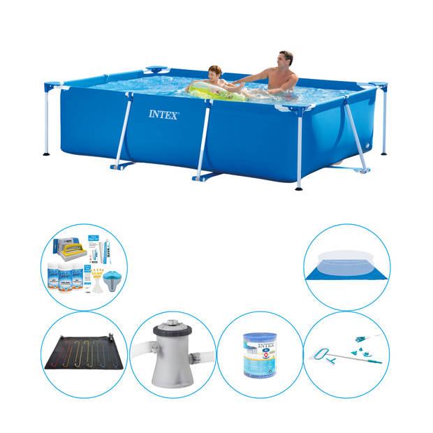 Intex Frame Pool Rechthoekig 260x160x65 cm - 7-delig - Zwembad Set