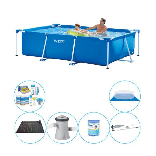 Intex Frame Pool Rechthoekig 260x160x65 cm - 7-delig - Zwembad Deal