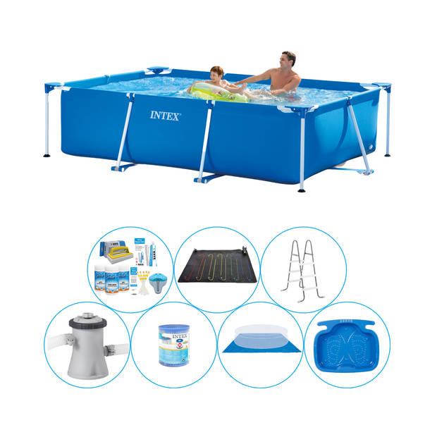 Intex Frame Pool Rechthoekig 260x160x65 cm - 8-delig - Zwembad Super Deal