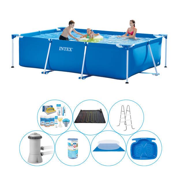 Intex Frame Pool Rechthoekig 300x200x75 cm - 8-delig - Zwembad Super Deal