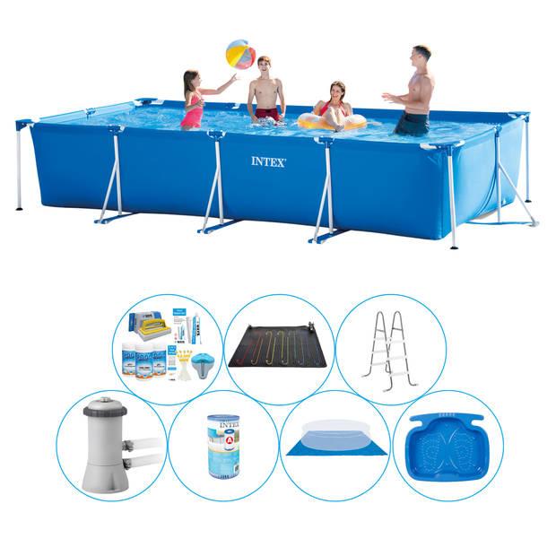 Intex Frame Pool Rechthoekig 450x220x84 cm - 8-delig - Zwembad Super Deal