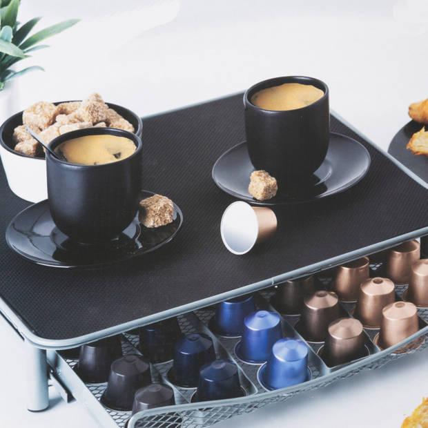 Gebor - Capsulehouder – Koffiecups Houder – Capsule lade – Nespresso Cups houder – Espresso-apparaat Tafeltje