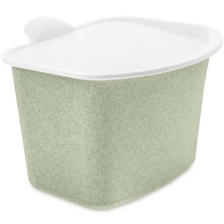 Koziol Tafelafvalbak Bibo 22,5 X 20,8 Cm Groen/wit