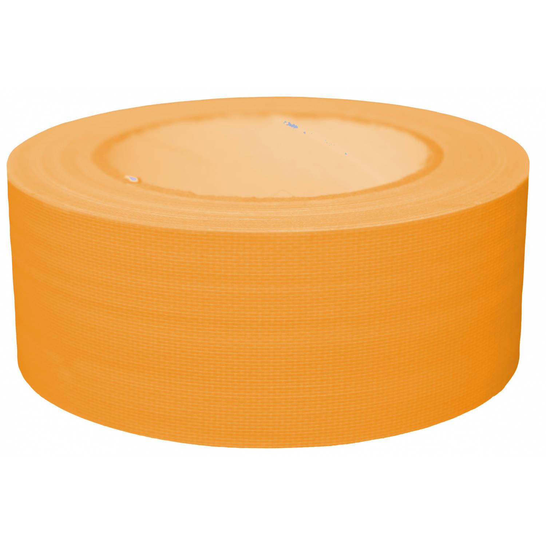 Korting Tom Ducttape Fluoriserend 50 Mm X 25 M 70 Mesh Oranje