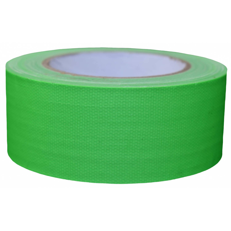 Korting Tom Ducttape Fluoriserend 50 Mm X 25 M 70 Mesh Groen