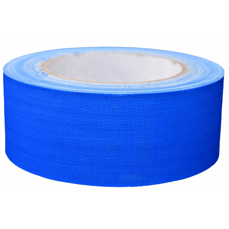 Korting Tom Ducttape Fluoriserend 50 Mm X 25 M 70 Mesh Blauw