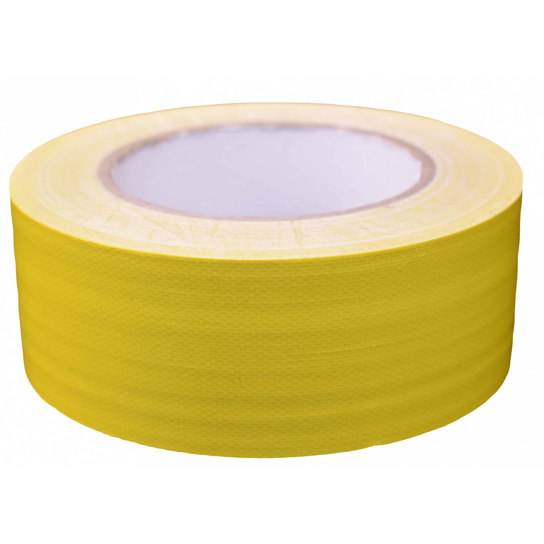 Korting Tom Ducttape 50 Mm X 25 M 70 Mesh polyetheen Geel