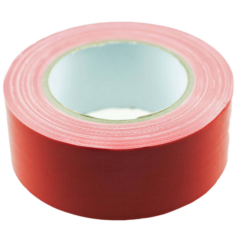 Korting Tom Ducttape 50 Mm X 25 M 70 Mesh polyetheen Rood