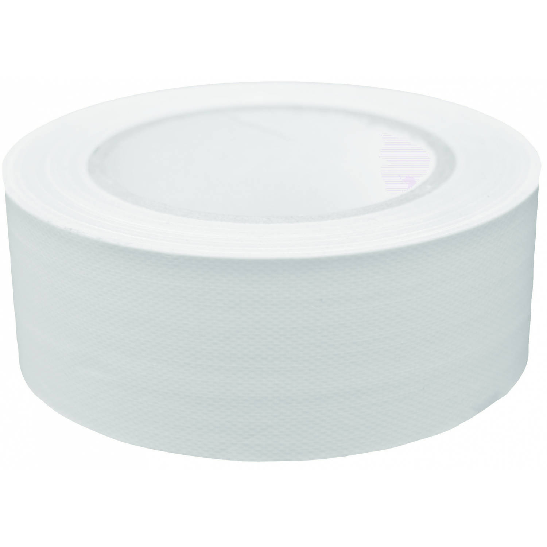 Korting Tom Ducttape 50 Mm X 25 M 70 Mesh polyetheen Wit