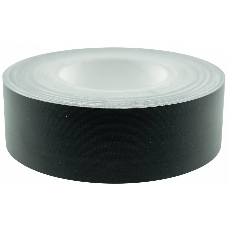 Korting Tom Ducttape 50 Mm X 25 M 70 Mesh polyetheen Zwart