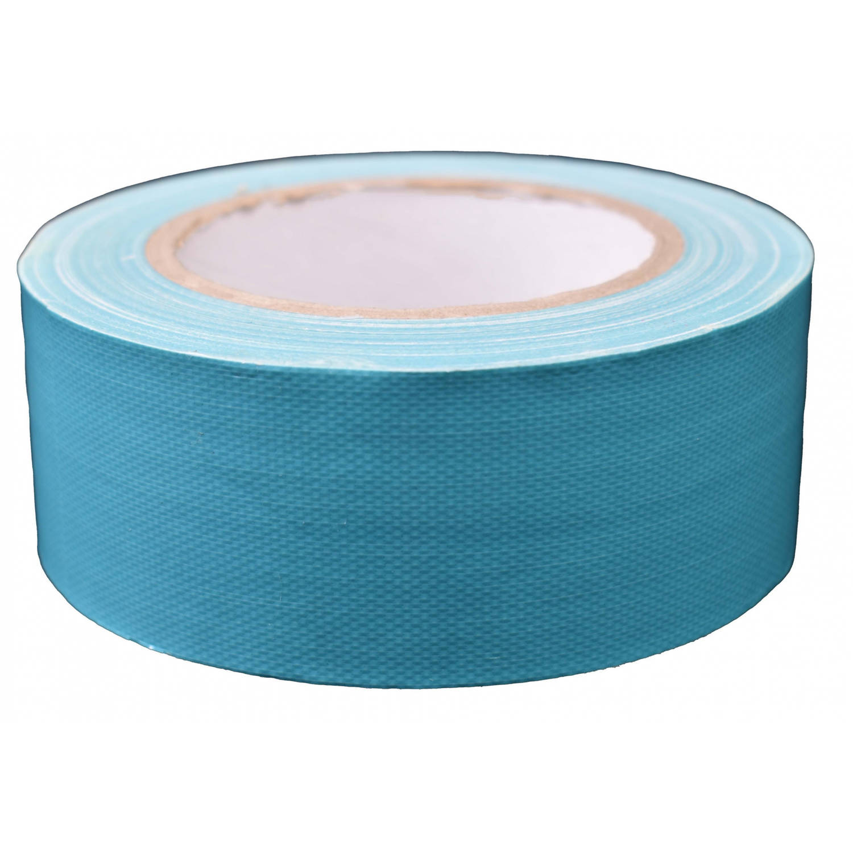 Korting Tom Ducttape 50 Mm X 25 M 70 Mesh polyetheen Lichtblauw