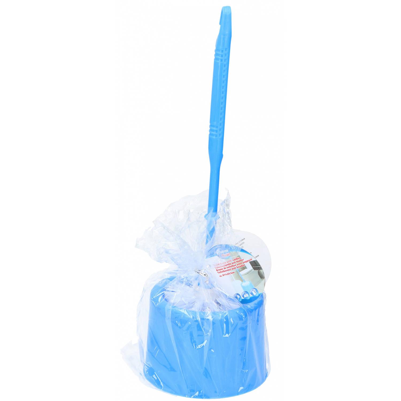 Korting Lifetime Clean Toiletborstel 34 Cm Polypropyleen Blauw 2 delig