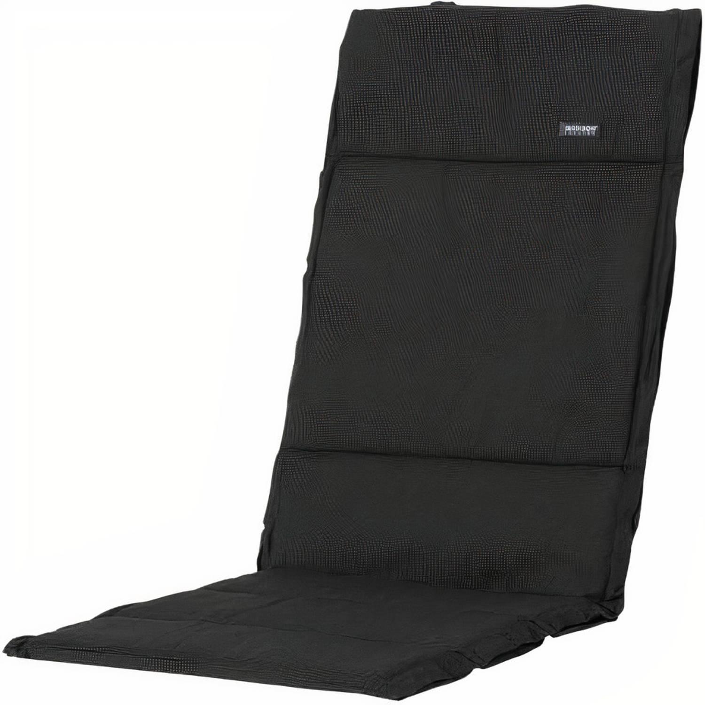 Madison Tuinkussen Fiber De Luxe Rib 125 X 50 Cm Dralon Zwart