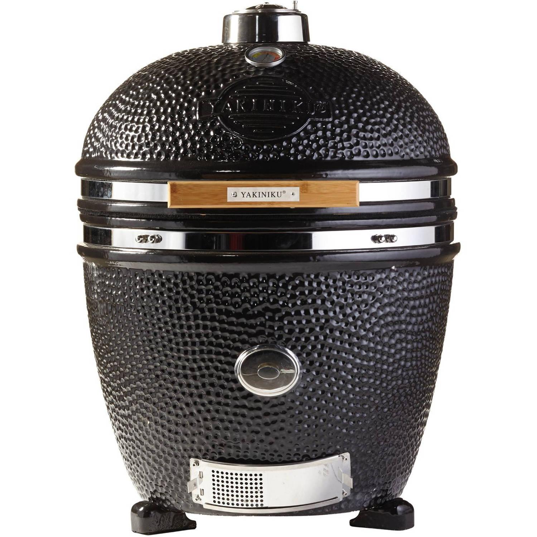 Yakiniku Barbecue Houtskool 22 Inch Keramiek/rvs Zwart