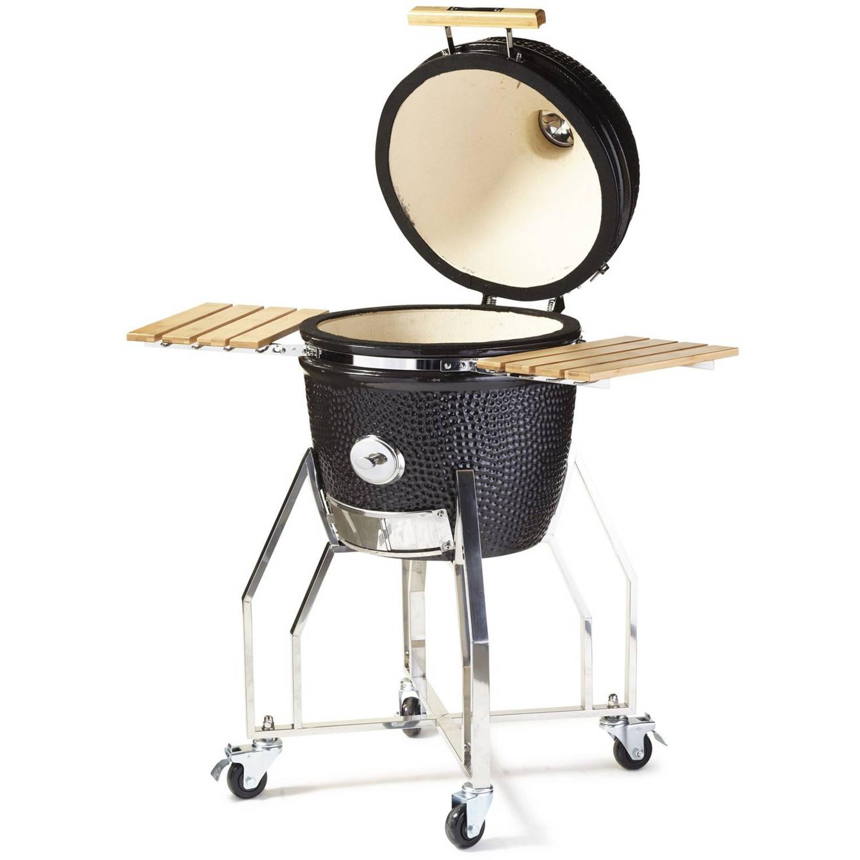 Yakiniku Barbecue Kamado Houtskool 16 Inch Keramiek/rvs