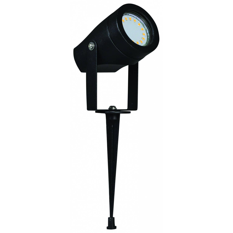 Luxform Tuinverlichting Esperance 60 X 12 X 7 Cm Aluminium Zwart