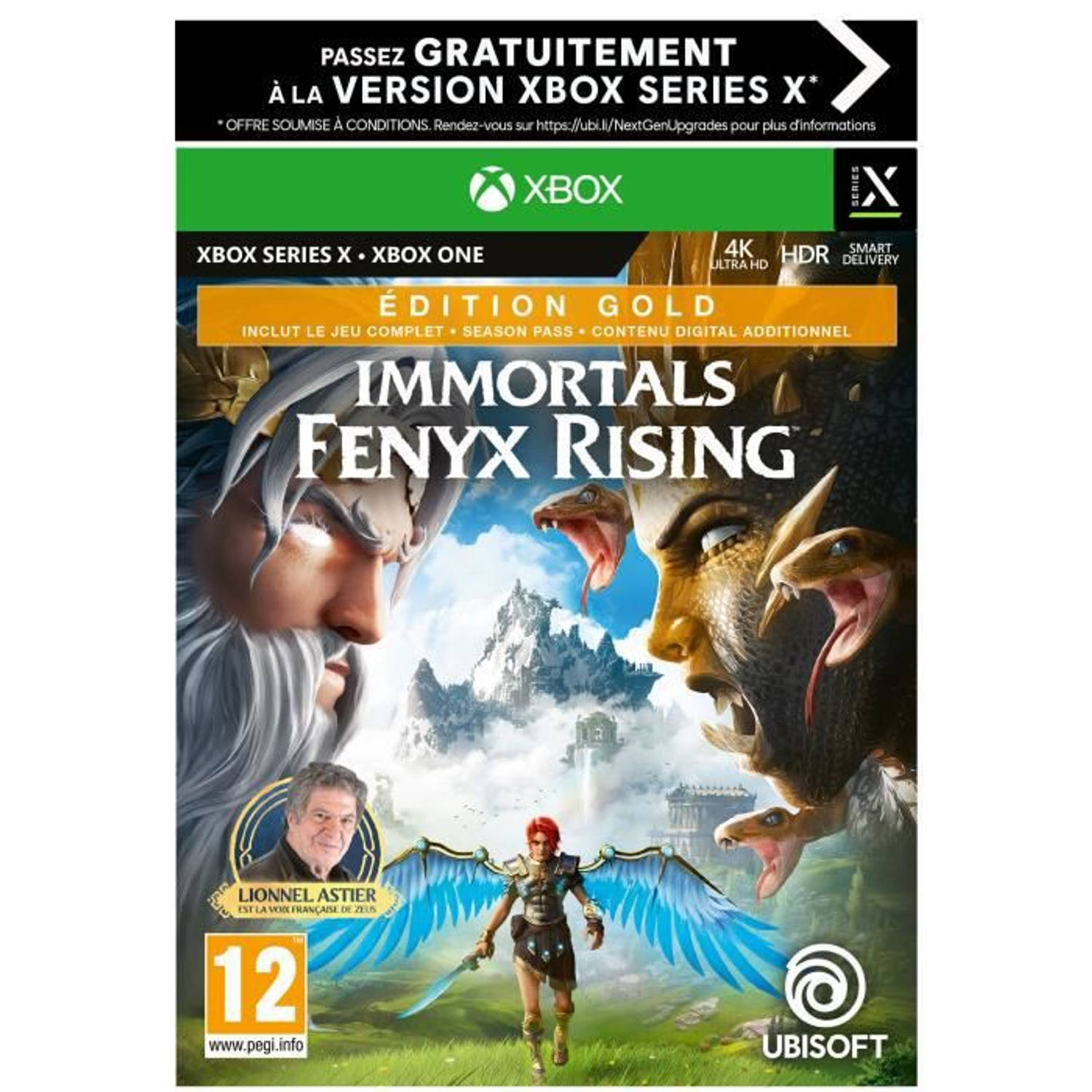 Ubisoft Immortals Fenyx Rising Gold Edition Xbox One En Xbox Series X Game