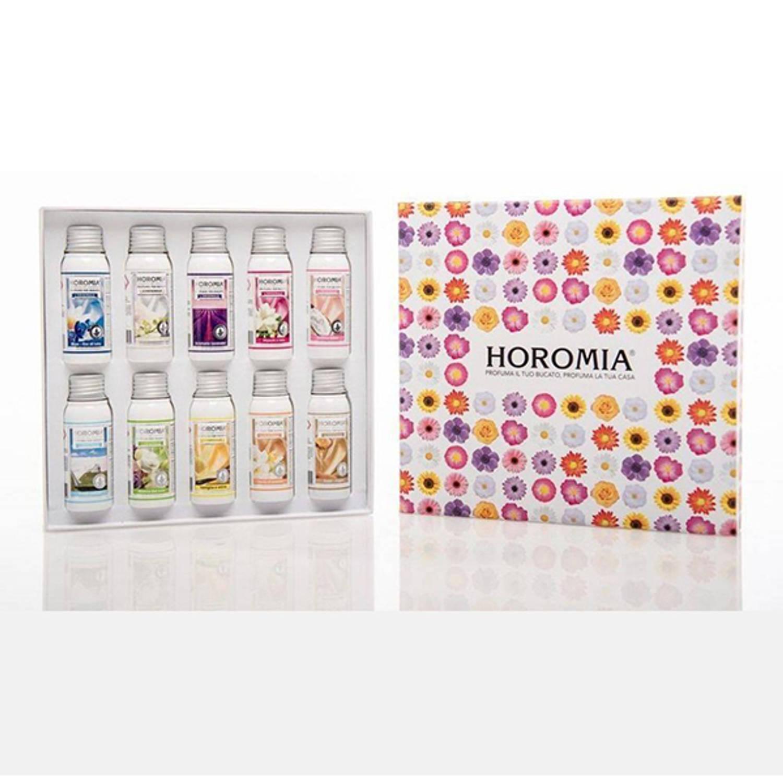 Cadeaupakket 10x50ml Wasparfum - Horomia