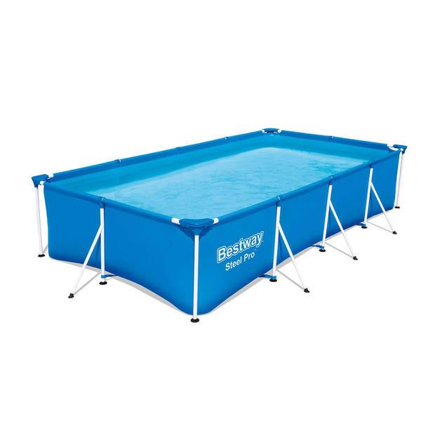 Bestway frame zwembad set 400 x 211 x 81 cm - incl. 2000L filterpomp