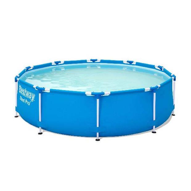 Bestway frame zwembad set rond 305 x 76 cm - incl. 2000L filterpomp
