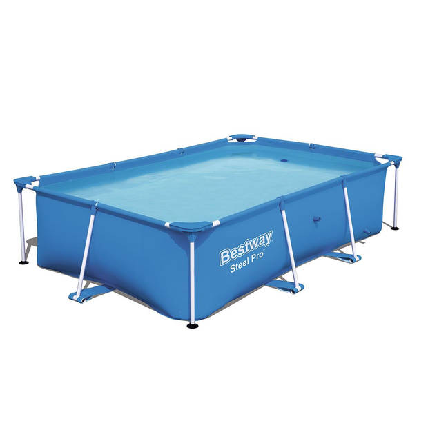 Bestway frame zwembad set 259 x 170 x 61 cm - incl. 1250L filterpomp
