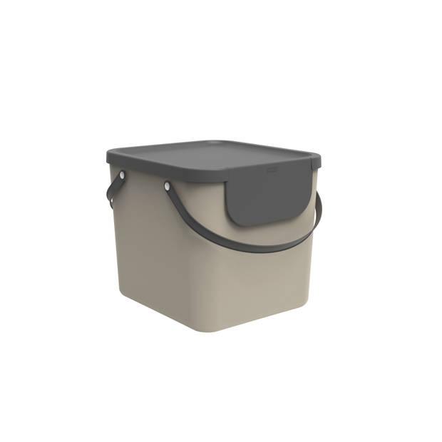Blokker afvalsorteerder 40L Cappucino