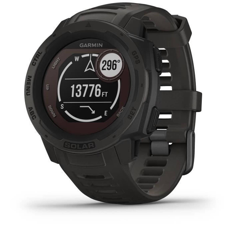 Garmin Smartwatch Instinct Solar, Grafiet