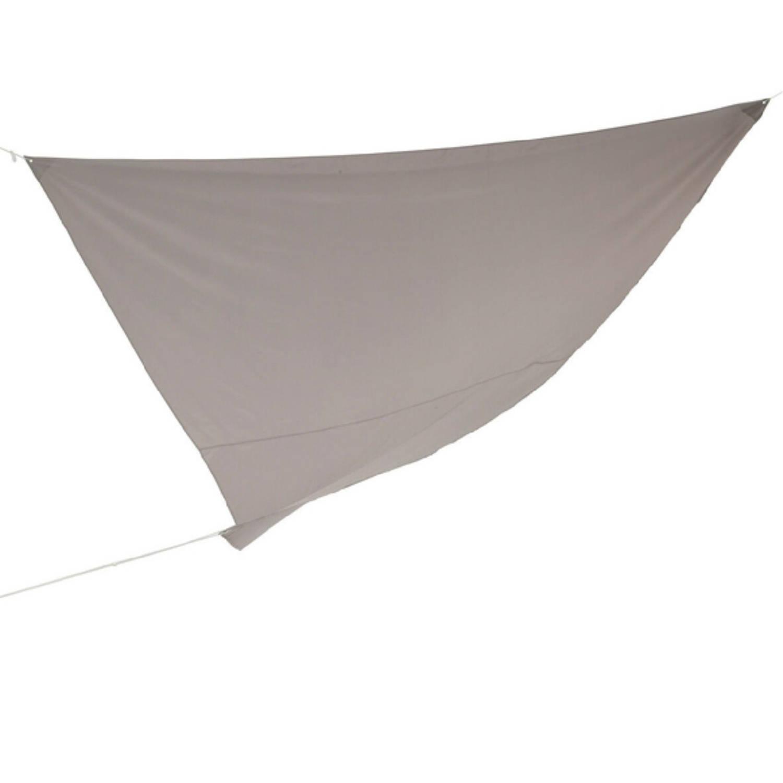 Schaduwdoek zonnescherm Driehoek Grijs 36 X 36 X 36 Meter
