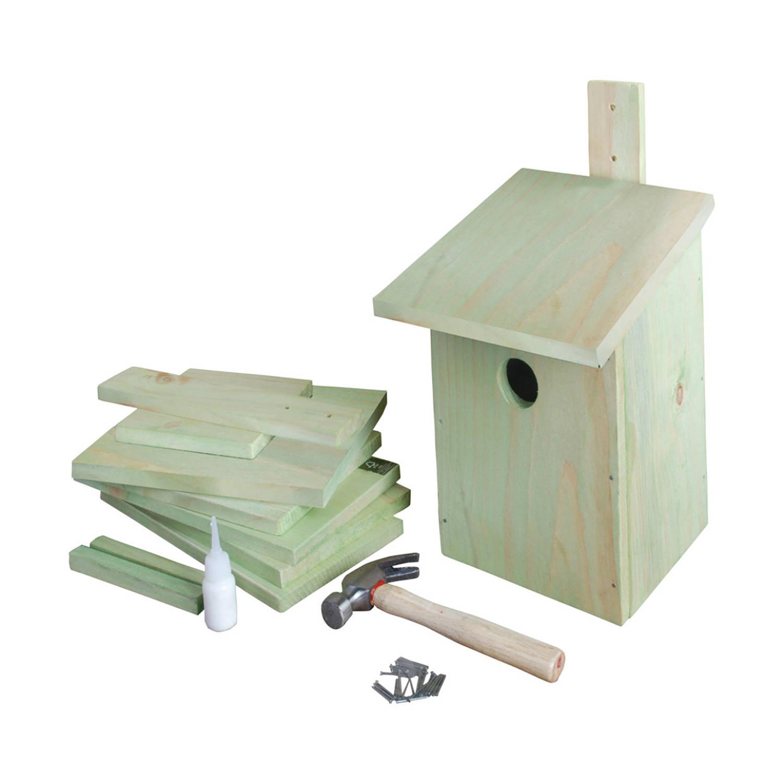 Best For Birds Doe-het-zelf Houten Vogelhuisje/nestkast 23 Cm Vogelhuisjes online kopen