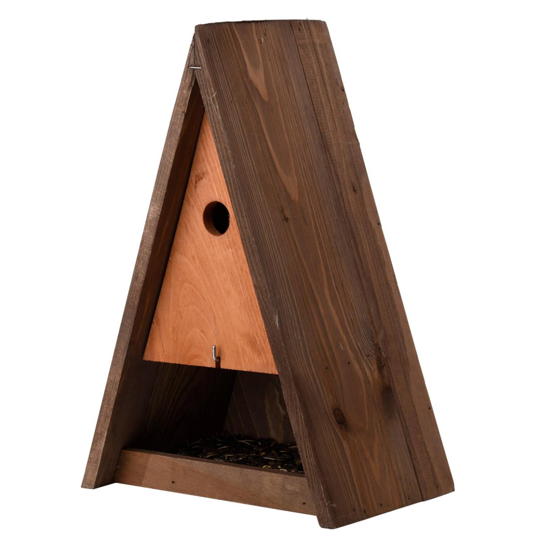 Best For Birds Houten Vogelhuisje/nestkast Bruin 40 Cm Vogelnestje Voor Tuinvogeltjes online kopen