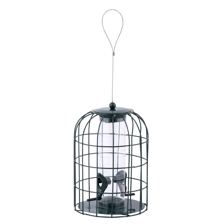 Merkloos Metalen Vogel Voedersilo/voederkooi 26 Cm Mussen/mezen Kleine Vogeltjes Winter Voeder Huisjes online kopen