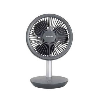 Korting Eurom Vento Cordless Fan Ventilator 27,5 Cm