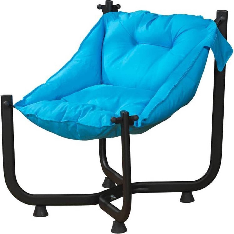 Solea - Loungestoel /Relax Fauteuil /Tuinstoel - Waterdicht - Blauw