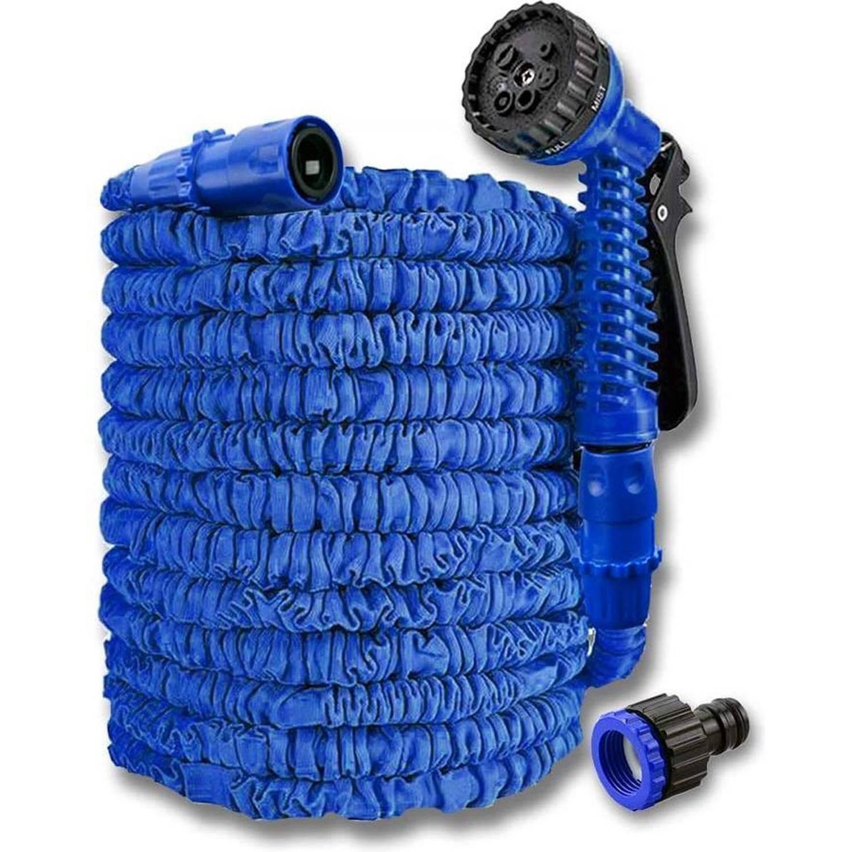 Flexibele Tuinslang - 15 Meter - Blauw