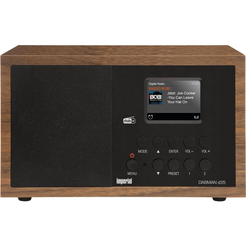 Imperial DABMAN d35 DAB+ Tafelradio FM Hout