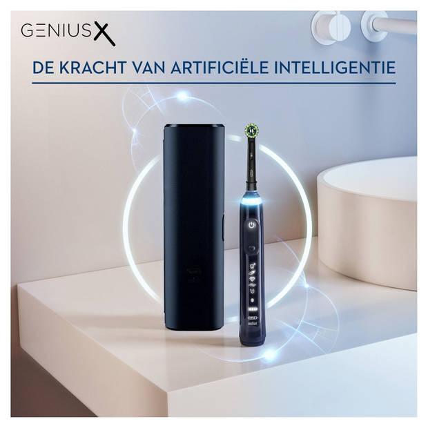 Oral-B elektrische tandenborstels Genius X Zwart incl. reisetui