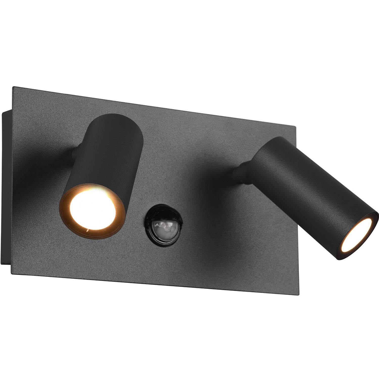 Led Tuinverlichting Met Bewegingssensor - Wandlamp Buitenlamp - Trion Sonei - 6w - Warm Wit 3000k -