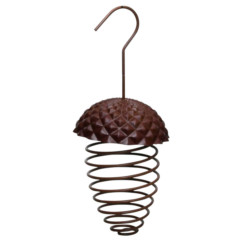 Best For Birds Ijzeren Voederveer Voor Vetbollen/mezenbollen Eikelvorm 23 Cm Vogel Voedersilo online kopen