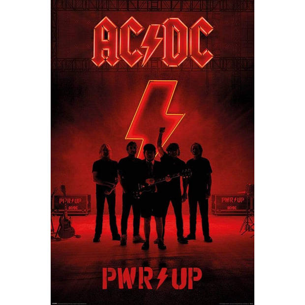 Pyramid AC DC PWR UP Poster 61x91,5cm