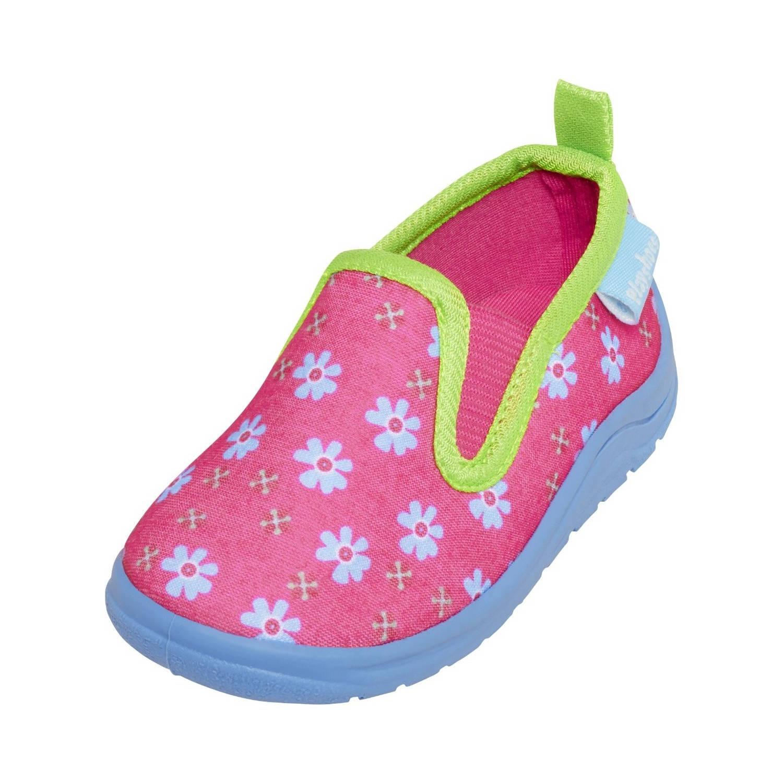 Playshoes Pantoffels Bloemen Junior Roze Maat 28/29 online kopen