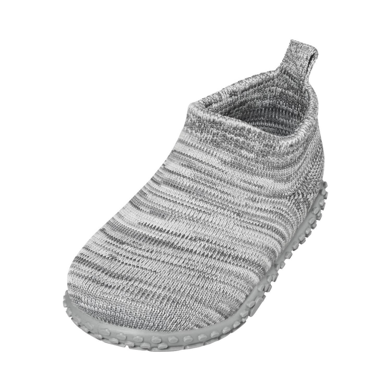 Playshoes Pantoffels Gebreid Junior Grijs Maat 26/27 online kopen