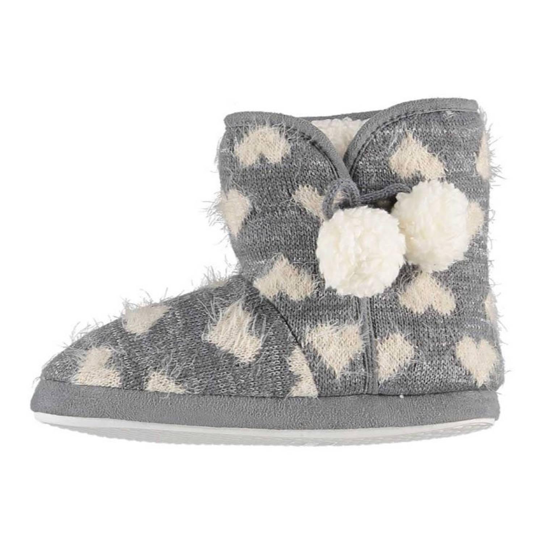Apollo Sloffen Dames Textiel/elastomeer Grijs Maat 37-38 online kopen