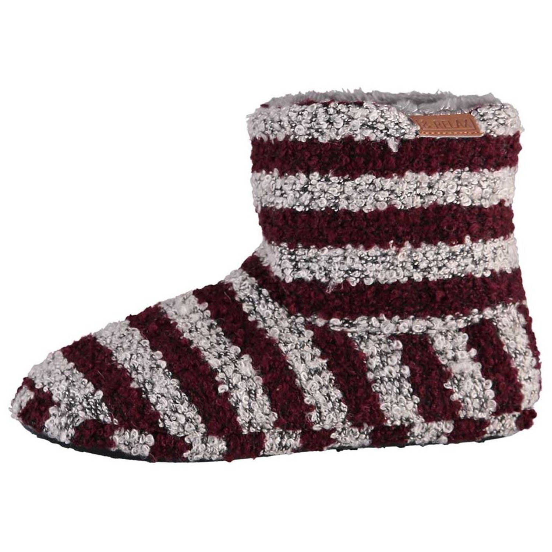 Apollo Sloffen & Relax Heren Textiel/tpr Rood/grijs Maat 37-38 online kopen