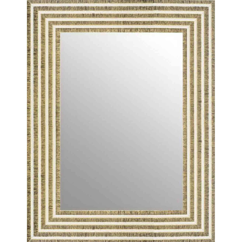 Korting Perfecthomeshop Chique Spiegel Wit Goud 64x84 Cm Svea