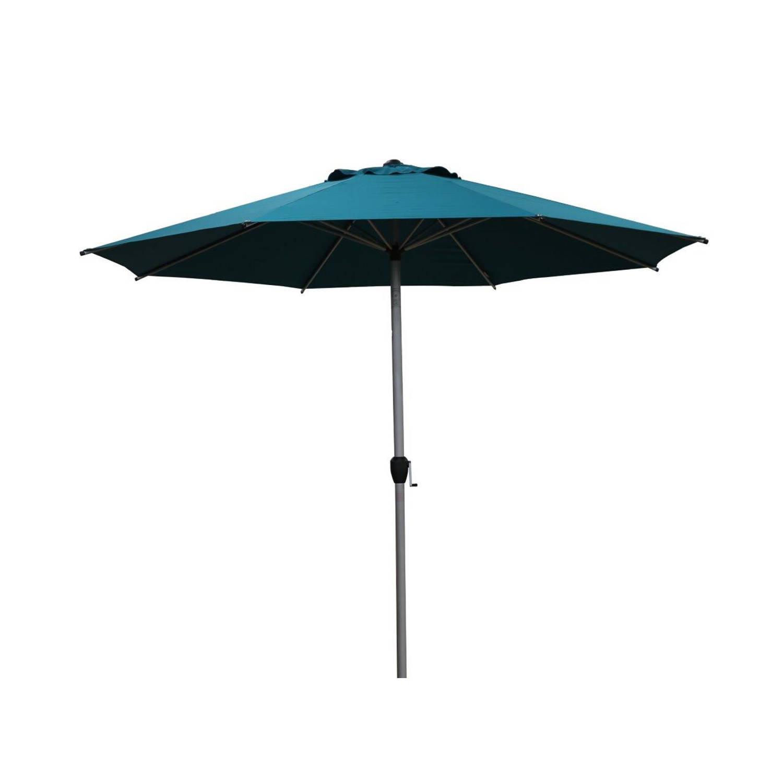 Sorara Lyon Parasol Ø 300 Cm Blauw