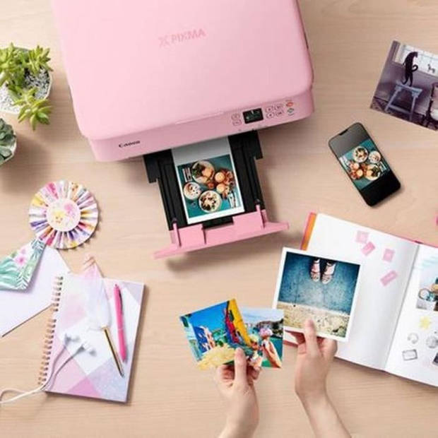 CANON Printer PIXMA TS5352 - Kleur - Inkjet - 216 x 297 mm (origineel) - A4 / Legal (ondersteuning) - Tot 13 ipm - Roze