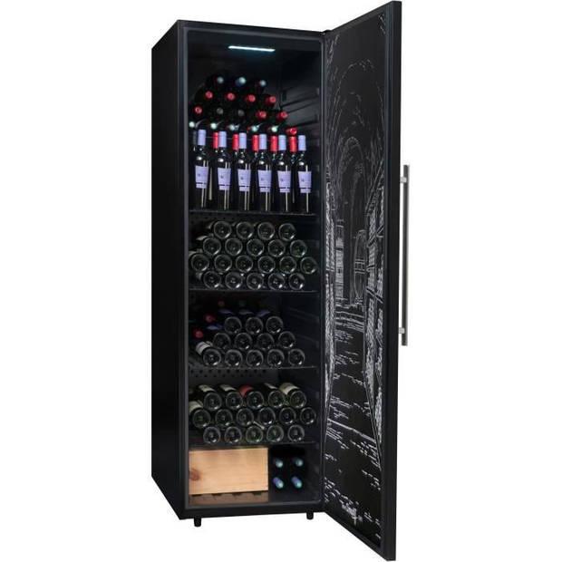 CLIMADIFF PCLP251 Multifunctionele wijnkast, verwarming en veroudering 248 flessen - Vrijstaand - L59.5cm x H188.2cm