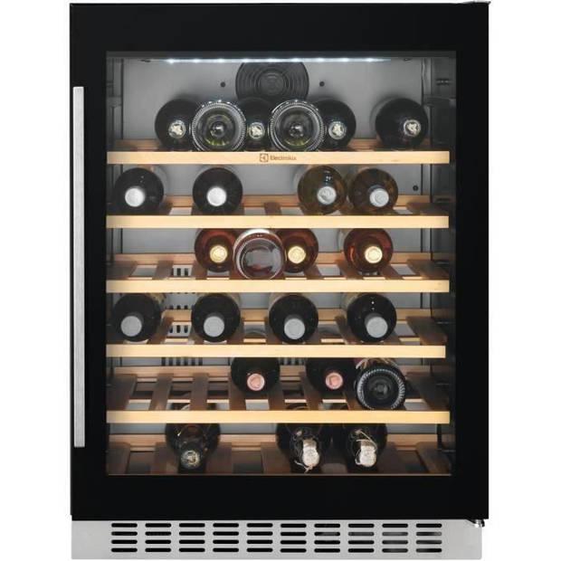 ELECTROLUX ERW1573AOA - Serveerwijnrek - 52 flessen - Inbouw - Koud geroerd - AL 60 x H 82,2 cm